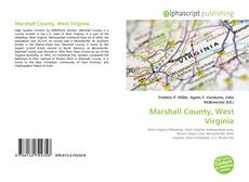 Bookcover of Marshall County, West Virginia