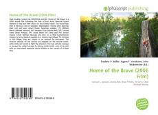 Bookcover of Home of the Brave (2006 Film)