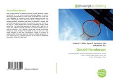 Bookcover of Gerald Henderson