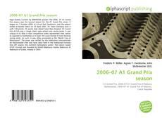 Capa do livro de 2006–07 A1 Grand Prix season