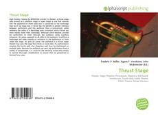 Bookcover of Thrust Stage