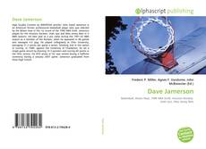 Capa do livro de Dave Jamerson