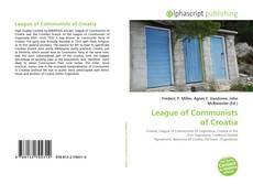 Portada del libro de League of Communists of Croatia