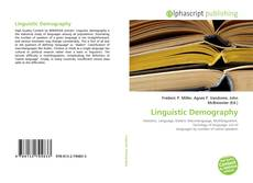 Bookcover of Linguistic Demography