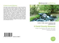 Bookcover of A Sand County Almanac