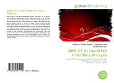 Portada del libro de 2006–07 A1 Grand Prix of Nations, Malaysia