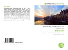 Capa do livro de Her Alibi