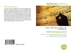 Bookcover of Well Temperament