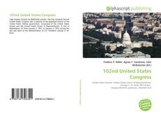 102nd United States Congress kitap kapağı