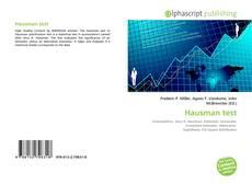 Hausman test的封面