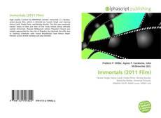 Capa do livro de Immortals (2011 Film)