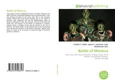 Bookcover of Battle of Minorca