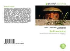 Bad Lieutenant kitap kapağı