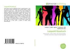 Buchcover von Leopold Kozeluch