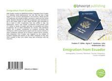 Emigration from Ecuador kitap kapağı