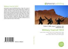 Copertina di Military Tract of 1812