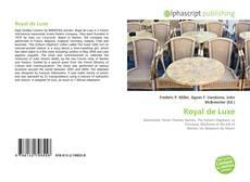 Copertina di Royal de Luxe