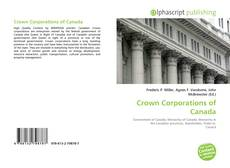 Bookcover of Crown Corporations of Canada