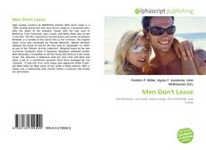 Bookcover of Men Don't Leave