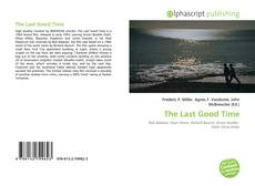 The Last Good Time kitap kapağı