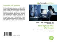 Investigative Data Warehouse的封面