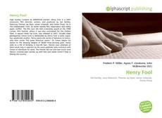Buchcover von Henry Fool