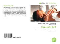 Bookcover of Hippocratic Oath