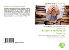 Bookcover of Bulgarian Academy of Sciences