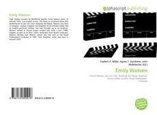 Bookcover of Emily Watson
