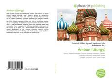 Обложка Ambon (Liturgy)
