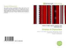 Buchcover von Stratos 4 Characters