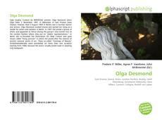 Copertina di Olga Desmond