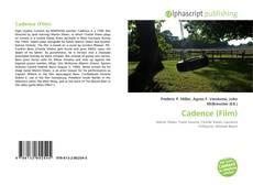 Capa do livro de Cadence (Film)