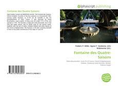 Bookcover of Fontaine des Quatre-Saisons