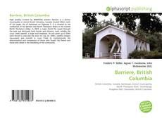 Bookcover of Barriere, British Columbia