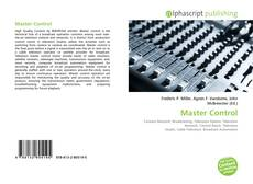 Bookcover of Master Control