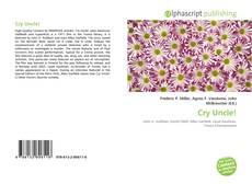 Capa do livro de Cry Uncle!