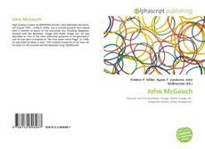 Buchcover von John McGeoch