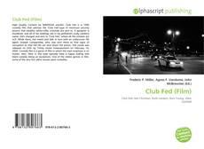 Copertina di Club Fed (Film)
