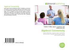 Bookcover of Algebraic Connectivity