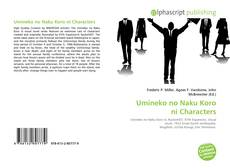 Capa do livro de Umineko no Naku Koro ni Characters