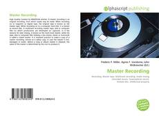 Bookcover of Master Recording