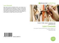 Bookcover of Leon Chwistek