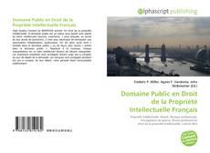 Couverture de Domaine Public en Droit de la Propriété Intellectuelle Français