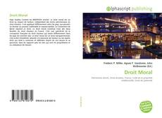 Bookcover of Droit Moral