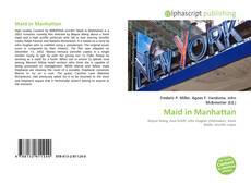 Buchcover von Maid in Manhattan