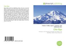 Bookcover of Cho Oyu