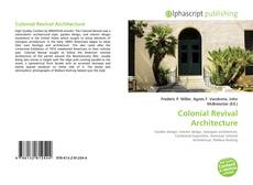 Copertina di Colonial Revival Architecture