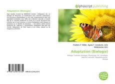 Adaptation (Biologie)的封面