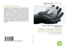 Capa do livro de William Lowthian Green